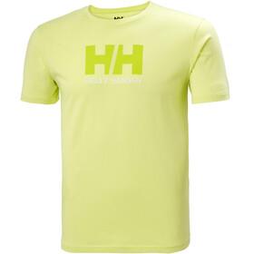 Helly Hansen HH Logo T-Shirt Uomo, sunny lime